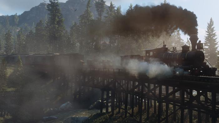Red Dead Online Summer Update Train Bridge