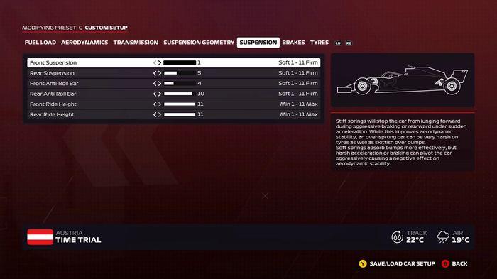 F1 2020 Austria wet suspension