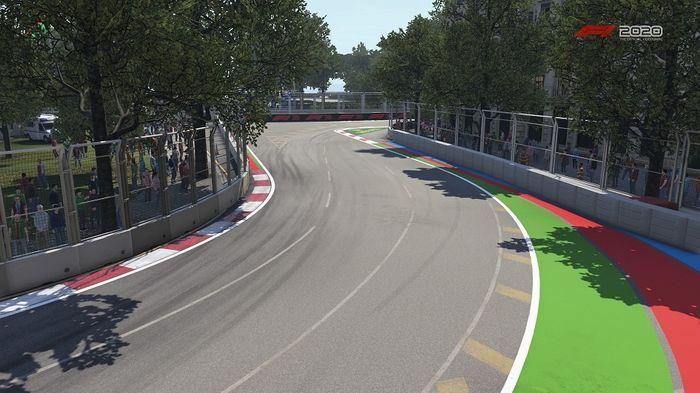 Azerbaijan GP Baku Street Circuit Turns 5 6