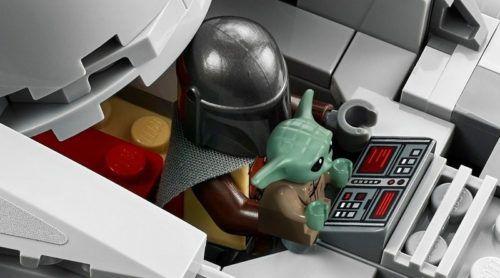 the razor crest lego star wars