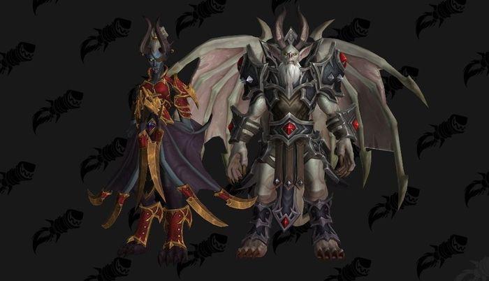 WoW Shadowlands Castle Nathria Stone Legion Generals Boss Fight