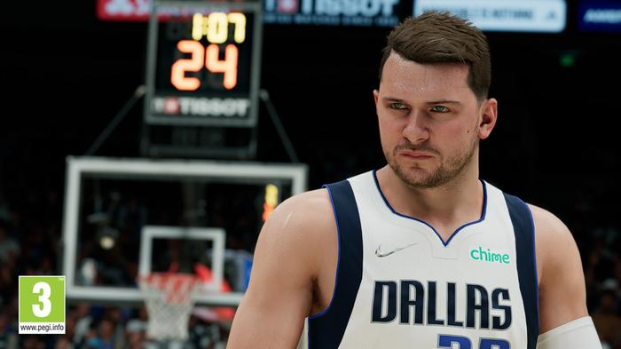 NBA 2K22 screenshot luka doncic gameplay ratings rating