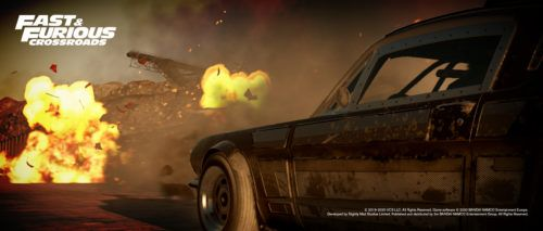 fast furious crossroads action cars explosion