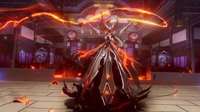Genshin Impact La Signora's final form