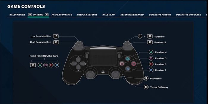 madden 21 controls passing