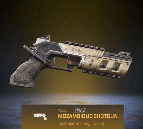 Apex Legends April Fools Golden Mozambique Shotgun