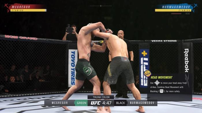 CLINCH UFC 4