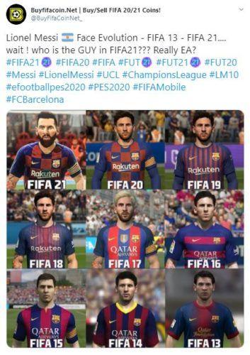 fifa 21 messi faces bad