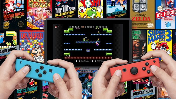 Nintendo Switch Online library