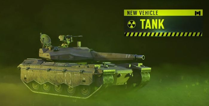 Cod Mobile Tank New Vehcile