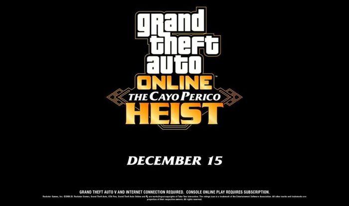 GTA Online Cayo perico heist release date