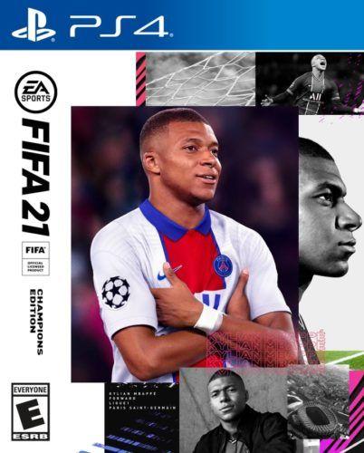 FIFA 21 Cover Star Kylian Mbappe