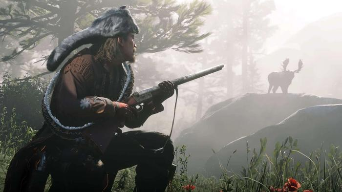 red dead online hunting min