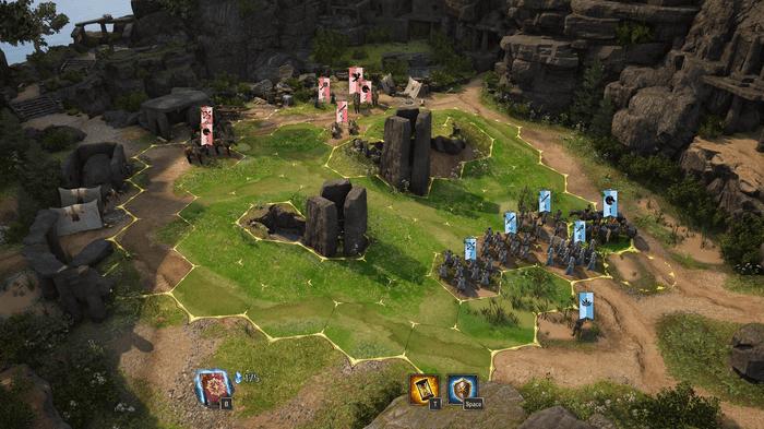 King's Bounty 2 Battle Screenshot