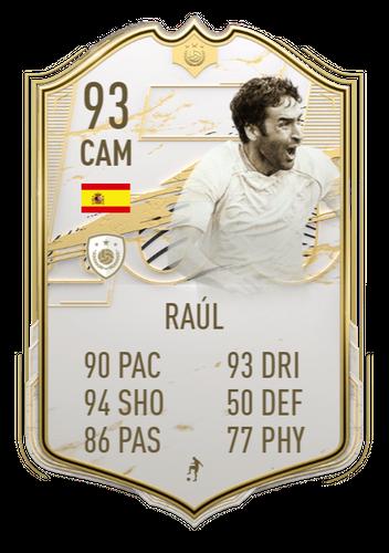FIFA 21 Icon SBC Raul