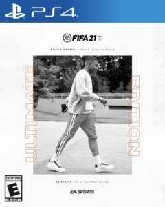 mbappe fifa 21 ultimate edition cover