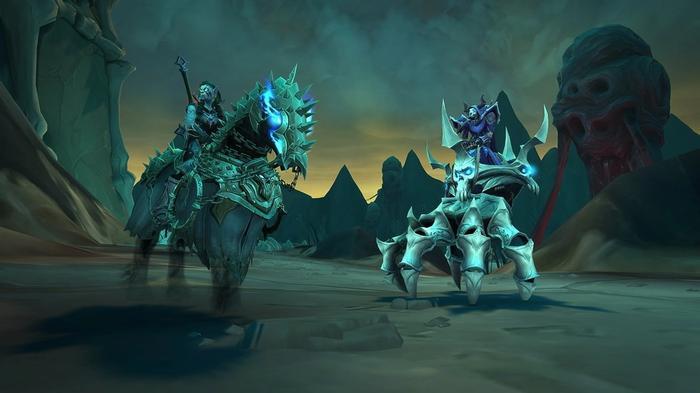 WoW Shadowlands 9.1 mounts PVP patch notes