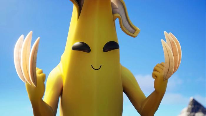 fortnite peely banana claw uhdpaper com hd 7 2551
