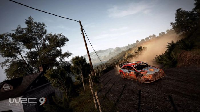 WRC 9 new zealand 1