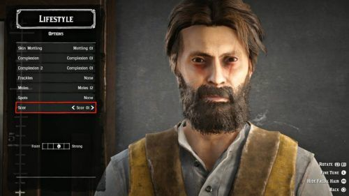 Red dead online customisation options