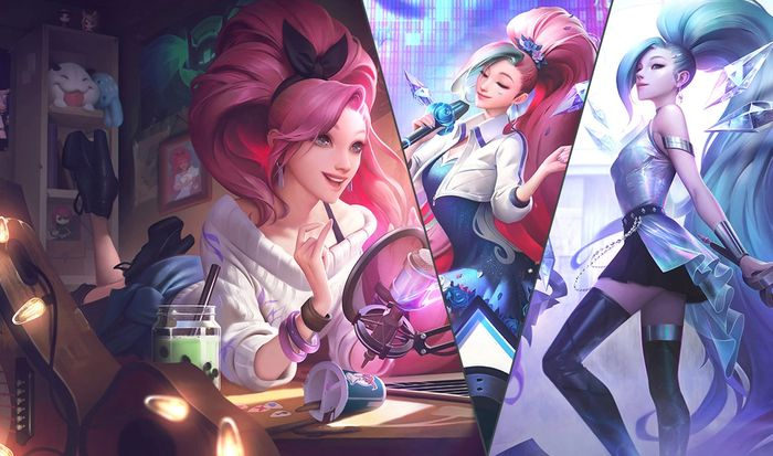 Seraphine League of Legends Sona