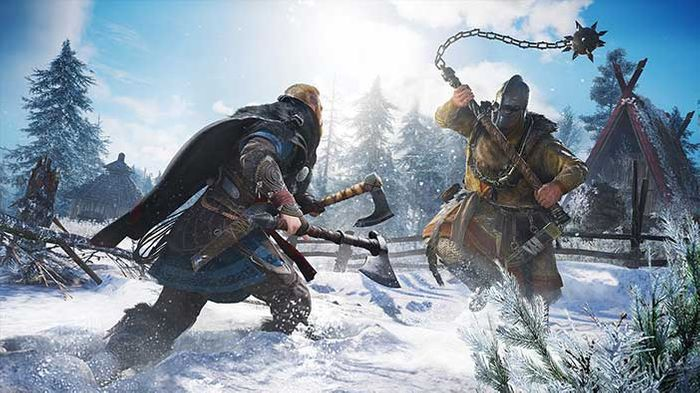 Assassin's Creed Valhalla Xbox Series X gameplay reveal