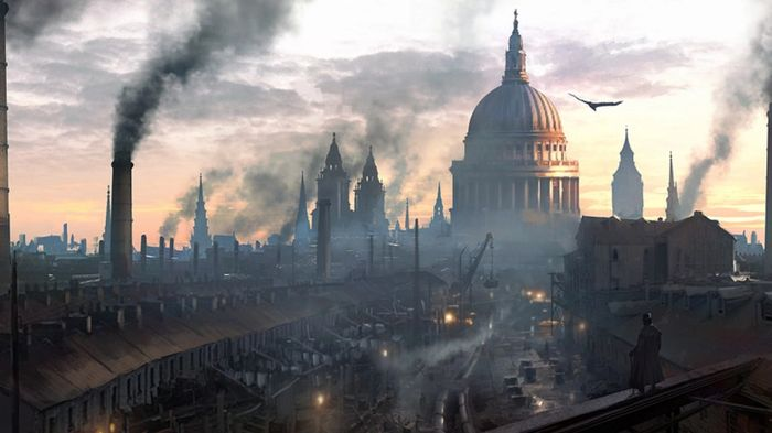 assassins creed syndicate london skyline