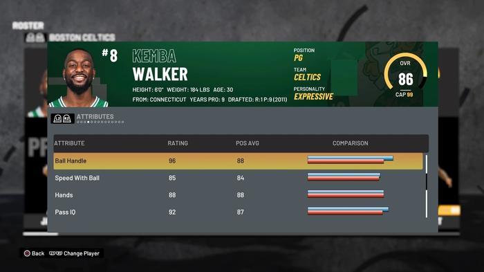WALKER HANDLES 2K21