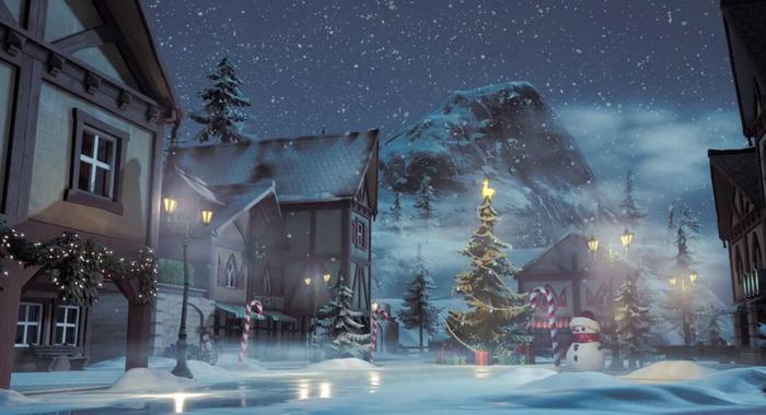Fortnite Operation Snowdown Winterfest Christmas Rewards LTM 120 FPS