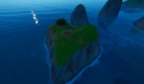 How to Plant a Seed on a Heart Shaped Island as Groot in Fortnite min