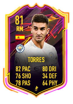 Ferran Torres FIFA 21 81-rated one to watch otw card