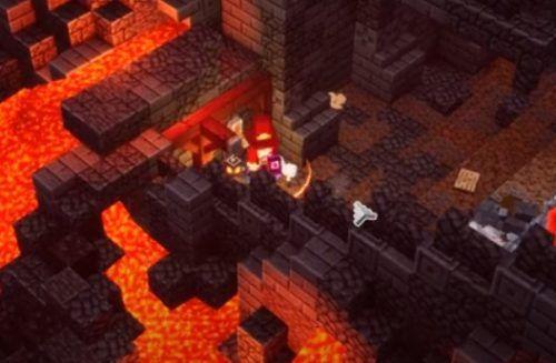 Minecraft Dungeons Fiery Forge Rune 1