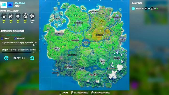 fortnite arena landing spots dooms domain 1