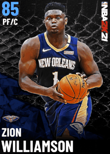 ROOKIE NO MORE - NBA 2K21 cover star Zion continues to rise through the ranks