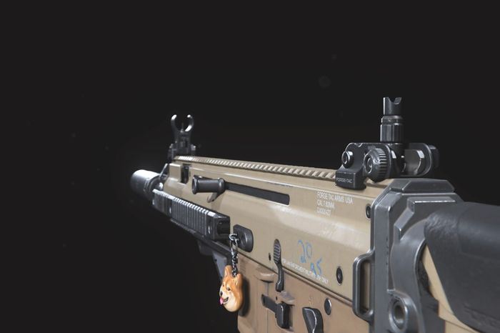 Warzone Assault Rifle Golf Season 4 FN SCAR 17