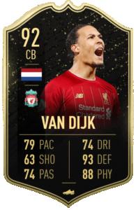 van Dijk fut player days fifa 20