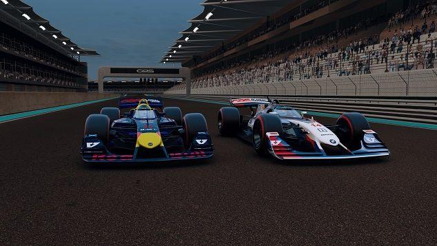 Red Bull BMW V10 R-League Yas Marina Round 7 Season 1