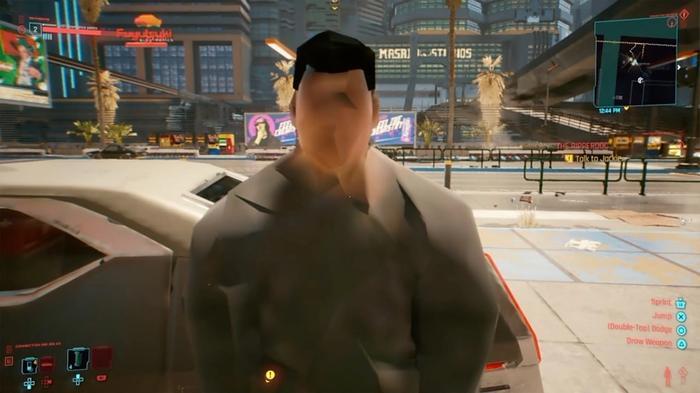 Cyberpunk-face-glitch