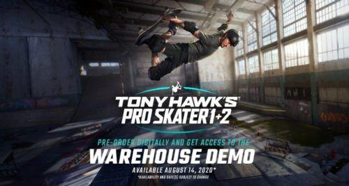 Tony Hawk's Pro Skater 1+2 Warehouse Demo