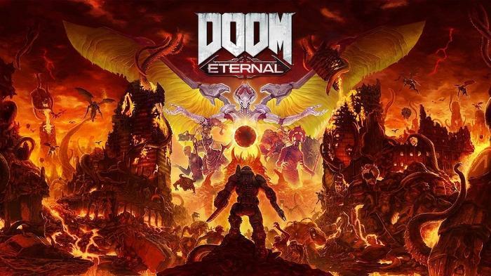 DOOM Eternal Key Promo Art