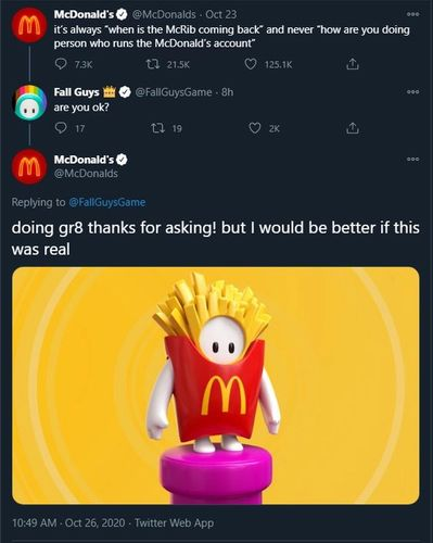 Fall Guys McDonalds Skin Concept French Fries