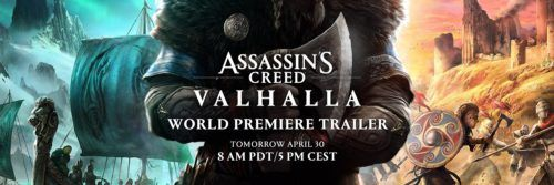 assassins creed valhalla twitter cover