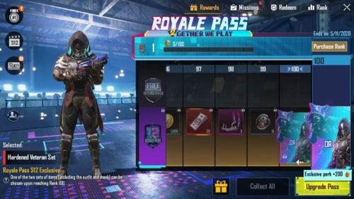 PUBG Mobile Season 12 Royale Pass skin 3