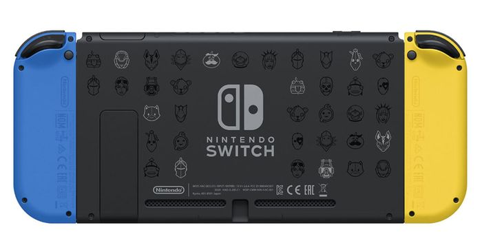 fortnite switch console back 1