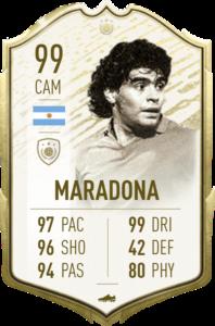 Maradona prime icon moments