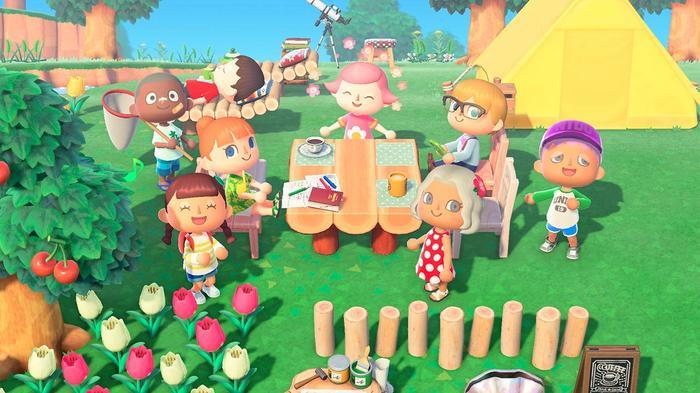Animal Crossing New Horizons Nintendo Switch key art