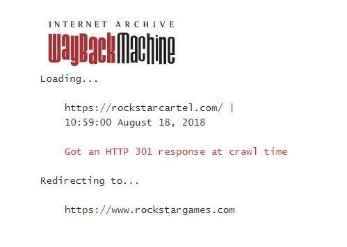 RockstarCartel Wayback Machine