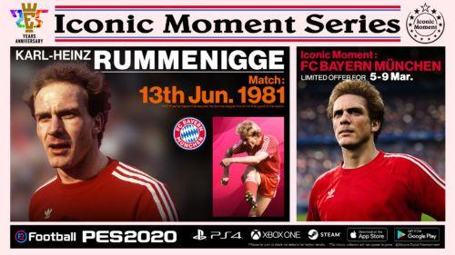 PES 2020 IconicMoment FCB RUMMENIGGE
