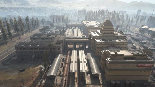 call of duty warzone best places to land train station
