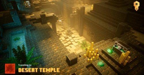 Minecraft Dungeons Desert Temple Nameless One Necromaners Tomb